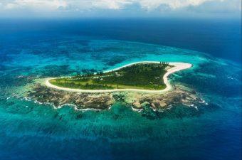L'île de Bird Island aux Seychelles