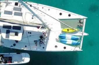 catamaran de luxe aux seychelles Attitude