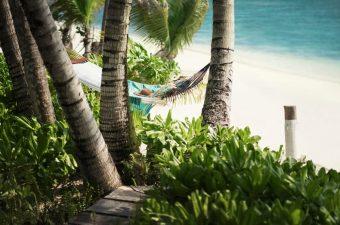 L'île de Desroches Island aux Seychelles